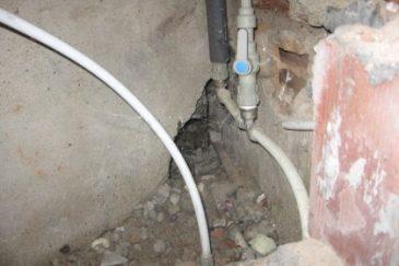 ремонт на теч след откриване