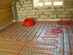 подово отопление цена